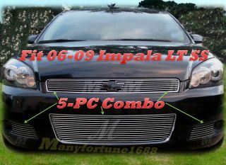 06 09 2007 2008 Chevy Impala SS New Billet Grille Combo