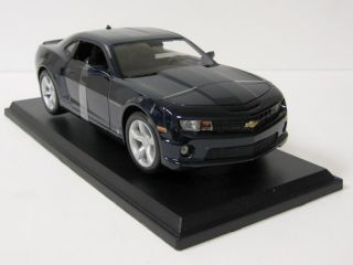 2010 Chevrolet Camaro SS RS Diecast Model Car Maisto 1 18 Scale Navy