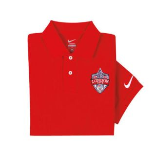 2012 LONDON OLYMPICS NBC NIKE GOLF GRAND SLAM POLO SHIRT (WORLDWIDE