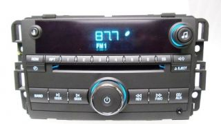 08 Chevy Impala Monte Carlo Radio Aux MP 3  1 CD Player Chevrolet
