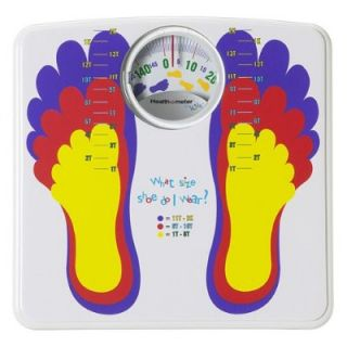 Health O Meter HAB020DQ 82 Kids Dial Feet Scale New