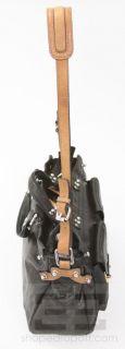 Phillip Lim Black Brown Leather Page Handbag