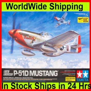 Tamiya 60322 1 32 North American P 51D Mustang Plastic Model Kit