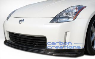 2003 2005 Nissan 350Z Carbon Creations N 1 Front Lip