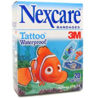 3M Nexcare x Disney Pixar Tattoo Waterproof Impermeables Bandage 20
