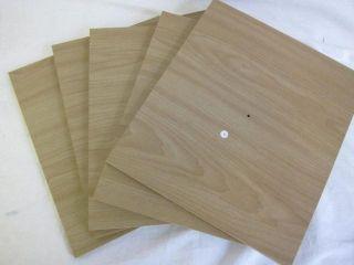 4D Concepts Corner Spacesaver Bookcase Maple Wood Shelf
