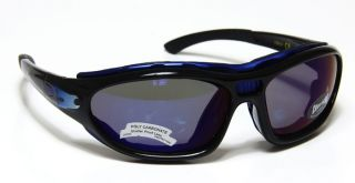 Choppers 102 Flame Fire Shades Black & Silver Frame Goggles Sunglasses