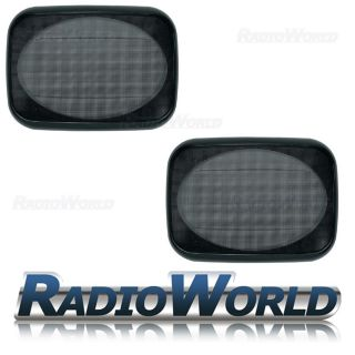 4x6 Car Audio Speaker Grills Covers Universal Fitment