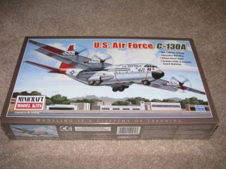 Minicraft U.S. AIR FORCE C 130A Aircraft Model Kit 1/144 NEW!