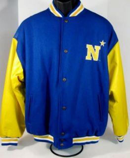 Midshipmen Logo Letterman Style Jacket Steve Barrys Mens Large