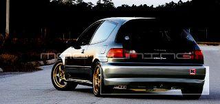 EG Honda Civic Type R CTR 3D Hatch Hatchback Rear Bumper Lip Urethane