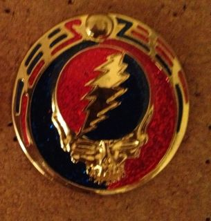 Owsley Buckle LSD Acid Grateful Dead Pin for Phish Owsley Poster Lapel