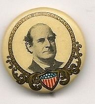 William Jennings Bryan picture pinback button pin