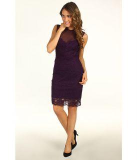 Nicole Miller Sleeveless Stretch Lace Dress