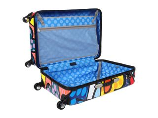 Heys Britto Collection   Flowers 30 Spinner Case