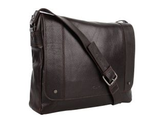 Kenneth Cole New York Durango Leather   Leather Flapover Messenger Bag
