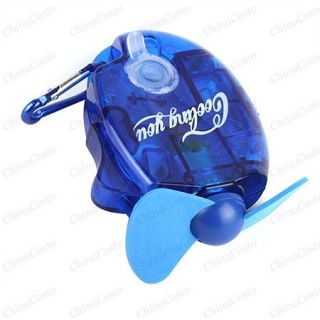 Portable Water Spraying Mist Cooling Cool Fan for outdoor activites
