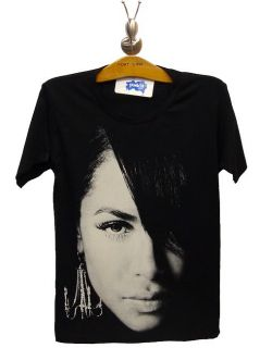 Aaliyah R I P Tribute R B Soul Rock Legend T Shirt s M
