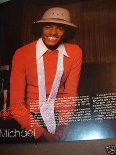 Lot of 3 Jackson 5 Vintage Concert Programs Michael