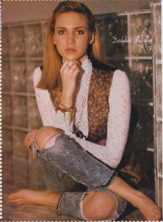 Paula Abdul Mini Poster Teen Pin Up 1991 Debbie Gibson Barefoot Full