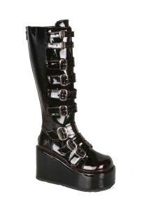 NCIS Abby Sciuto Boots 4 Platform Gothic Munster Demonia Concord 108
