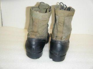 Vtg 1987 Military Jungle Boots sz 10N (#10069)