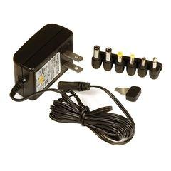 PHC 600mA, 3 12 Vol Auo Swiching Universal AC Adaper   UL B