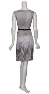 Printed Silk Cocktail Dress 10 New
