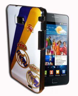 Con El Escudo Del Real Madrid Para Samsung Galaxy S2 I9100