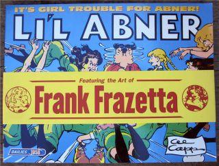 Lil Abner Dailies Vol.24 1958 SC (w/ Obi) 1st Al Capp New LIL ABNER
