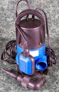 HP Electric Submersible Sump Water Pump New