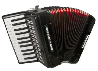 New Hohner Hohnica 1302 Tremolo Piano Accordion w Case
