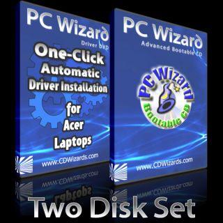 Acer Aspire 7540G Drivers Recovery DVD Rescue Repair Windows 7 Vista