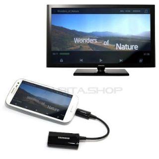 Adaptador Samsung Original HDTV MHL HDMI Galaxy S3 s III i9300 EPL