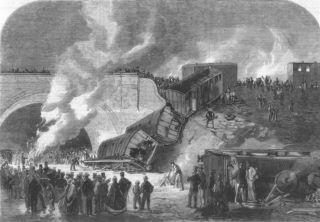 London Fatal Railway Accident at Kentish Town 1861