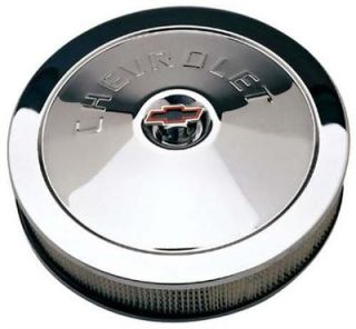 Proform 141 302 GM Performance Chevy 14x3 Classic Chrome Air Cleaner