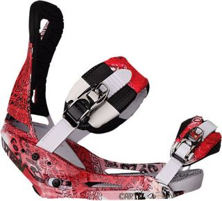 Burton Cartel Est Acid T 2011 Snowboard Bindings Large