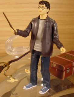 Harry Potter Deluxe with Broom Poseable Action Figure