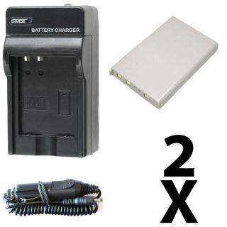 Battery & Charger Kit Nikon COOLPIX S9100 Digital Camera Accessory Kit