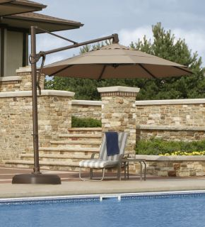 Octagon Patio Pool Outdoor Umbrella Olefin Acrylic Shade Cover