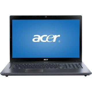 17 3 Acer Aspire Laptop Quad Core 500GB 4GB Radeon 6520G Win7 HDMI