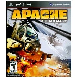 Activision Apache Air Assault Simulation Game   Complete Product