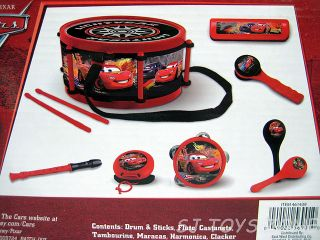 Disney Pixar Cars Lighning McQueen Party Band Musical Toy Instruments