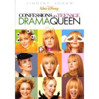 Confessions of A Teenage Drama Queen Walt Disney DVD 786936243437
