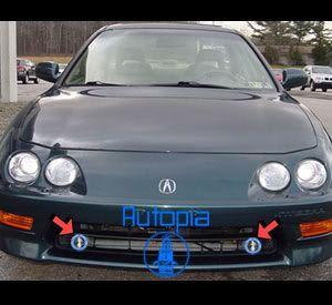 94 01 Acura Integra JDM Fog Lights Lamps 96 97 98 99 00 JX Driving