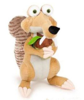 acorn plush squirrel ice age continental drift teddy bear film