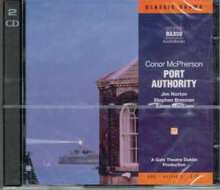 Port Authority by Conor McPherson audio book unopened new abridged