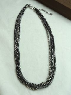 Silpada Sterling Silver Multi Chain Necklace N1719 NIB