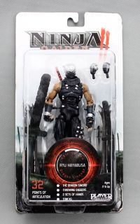 description item ninja gaiden ii ryu hayabusa action figure band neca
