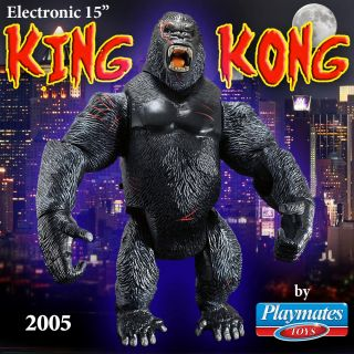 Supreme Kong King Kong Electronic Action Figure by Playmates Toys 2005